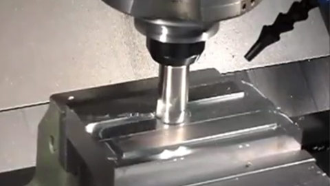 1-inch Square Shoulder End Mill Profiling Stainless Steel