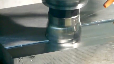 90-degree Face Milling Steel with a Square Shoulder Shell Mill