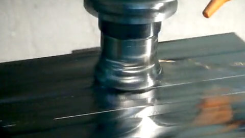 Toroid Shell Mill Face Milling with High-Feed Inserts