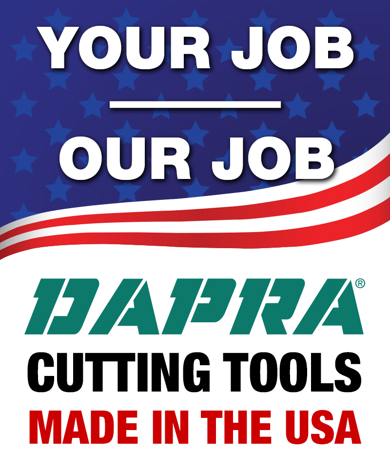 Your Job is Our Job -- Cutting Tools Made in the USA